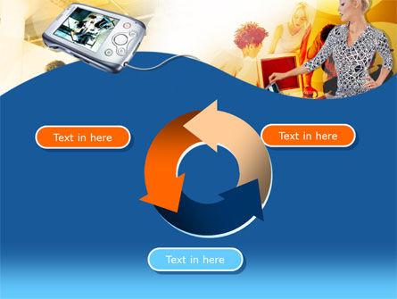 Modern Gadgets Free PowerPoint Template Slide 9