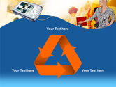 Modern Gadgets Free PowerPoint Template#10
