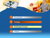 Modern Gadgets Free PowerPoint Template#3