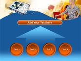 Modern Gadgets Free PowerPoint Template#8