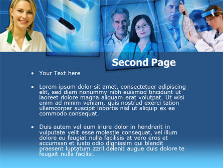 Medical Personnel PowerPoint Template, Slide 2, 00212, Technology and Science — PoweredTemplate.com