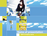 Office Life PowerPoint Template#1