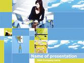 Business Concepts: Plantilla de PowerPoint - vida en la oficina #00213
