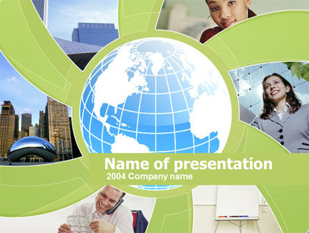 Global: Business Personnel Assistants PowerPoint Template #00214