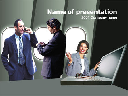 Business Consulting Free PowerPoint Template, 00215, Business — PoweredTemplate.com