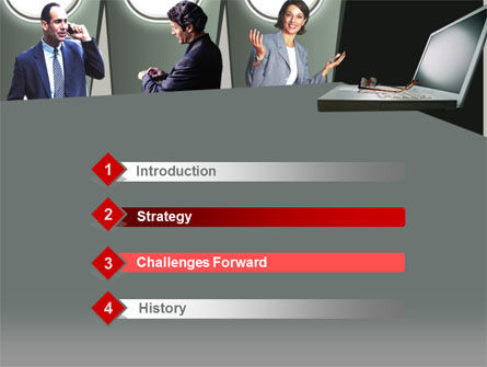 Business Consulting Free PowerPoint Template, Slide 3, 00215, Business — PoweredTemplate.com