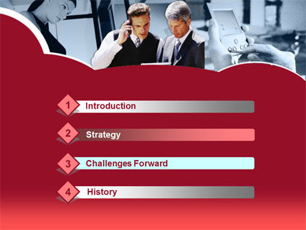 Business Consultant PowerPoint Template, Slide 3, 00216, Business — PoweredTemplate.com