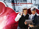 Business: Business Consultant PowerPoint Template #00216