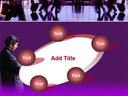 Business Flights PowerPoint Template Slide 14