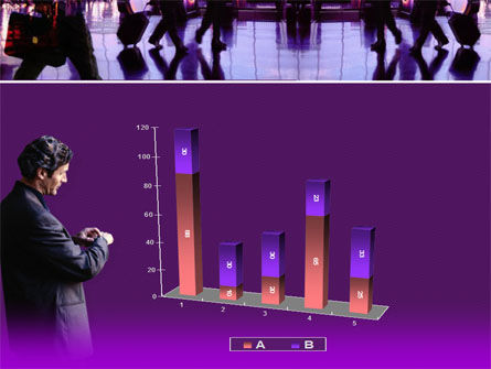 Business Flights PowerPoint Template Slide 17