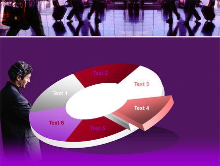 Business Flights PowerPoint Template Slide 19
