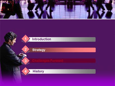 Business Flights PowerPoint Template, Slide 3, 00218, Business — PoweredTemplate.com