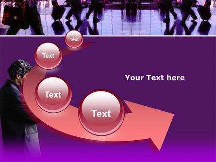 Business Flights PowerPoint Template Slide 6