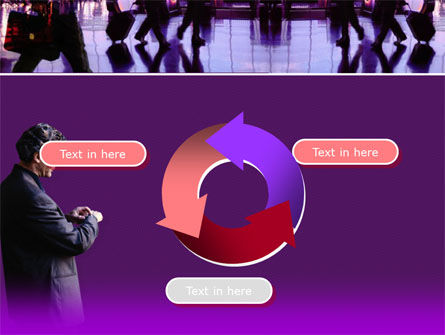Business Flights PowerPoint Template Slide 9