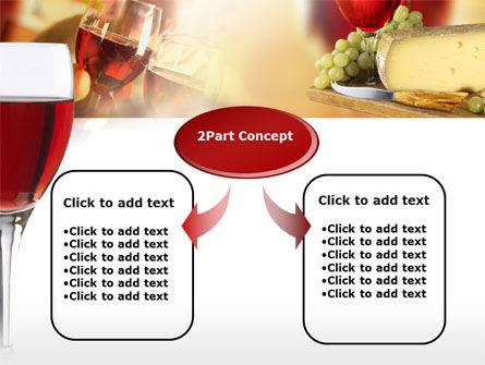 Red Wine Tasting PowerPoint Template, Slide 4, 00222, Food & Beverage — PoweredTemplate.com