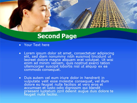 Asian Women in Business PowerPoint Template, Slide 2, 00223, Business — PoweredTemplate.com