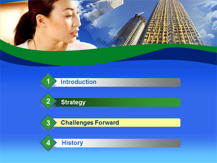 Asian Women in Business PowerPoint Template, Slide 3, 00223, Business — PoweredTemplate.com