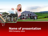 Real Estate: Private Real Estate PowerPoint Template #00226