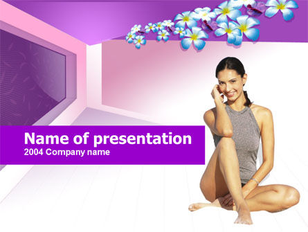 Medical: Women's Health PowerPoint Template #00227