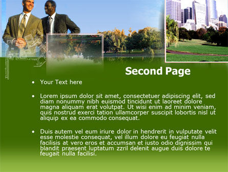 City Business PowerPoint Template Slide 2