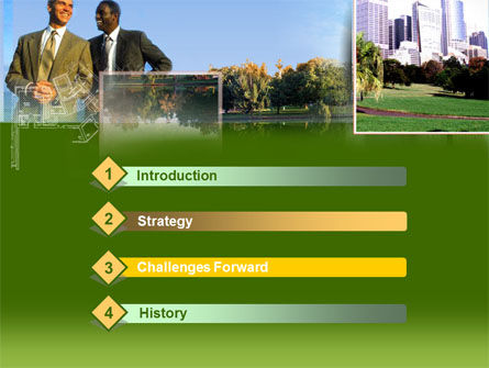 City Business PowerPoint Template Slide 3