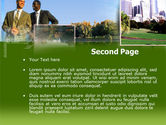 City Business PowerPoint Template#2