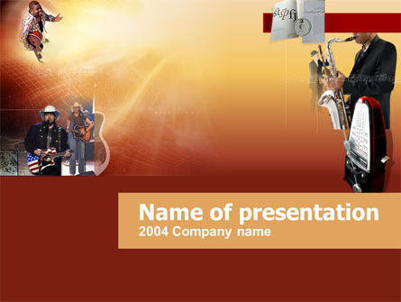 Art & Entertainment: Concert PowerPoint Template #00231