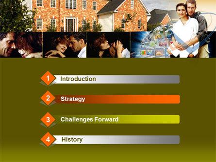 Family House PowerPoint Template, Slide 3, 00232, Real Estate — PoweredTemplate.com