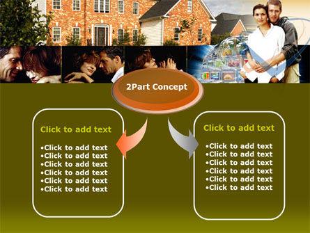 Family House PowerPoint Template, Slide 4, 00232, Real Estate — PoweredTemplate.com
