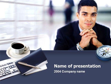 Modern Business Consulting PowerPoint Template, 00233, Business Concepts — PoweredTemplate.com