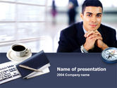 Business Concepts: Modern Business Consulting PowerPoint Template #00233