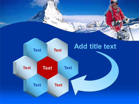 Mountain Skiing PowerPoint Template Slide 11