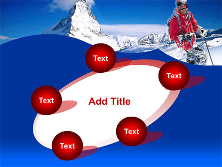 Mountain Skiing PowerPoint Template Slide 14