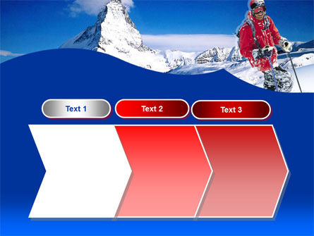 Mountain Skiing PowerPoint Template Slide 16