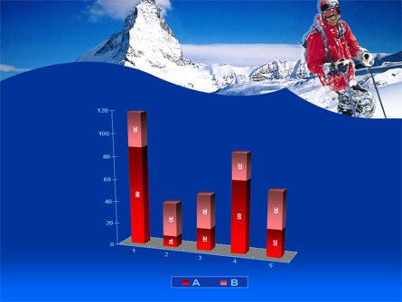 Mountain Skiing PowerPoint Template Slide 17