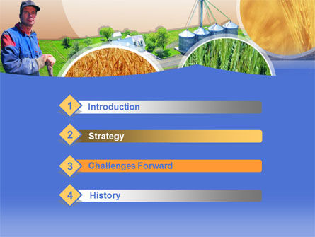 Farmer PowerPoint Template Slide 3
