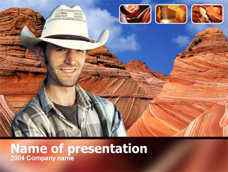 Free Grand Canyon PowerPoint Template
