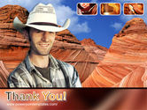 Grand Canyon Free PowerPoint Template#20