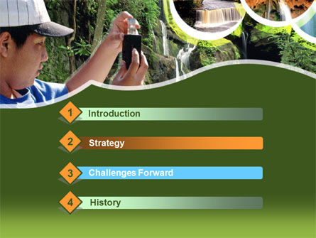 Free Rain Forest Studying PowerPoint Template Slide 3