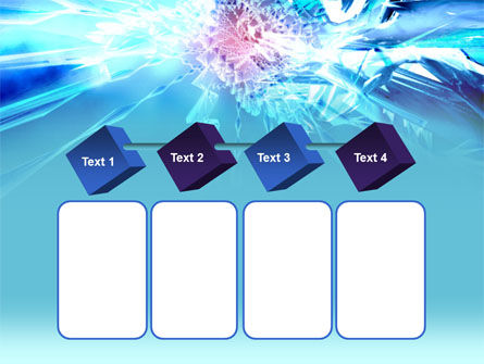 Midnight Blue Abstract PowerPoint Template Slide 18
