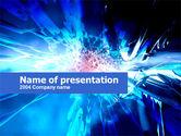 Abstract/Textures: Modello PowerPoint - Midnight blu #00244