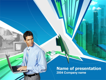 Business and Computers PowerPoint Template