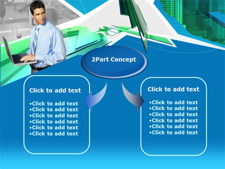 Business and Computers PowerPoint Template Slide 4