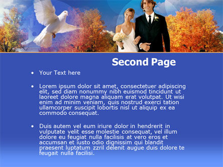 Marriage Ceremony PowerPoint Template, Slide 2, 00246, Holiday/Special Occasion — PoweredTemplate.com
