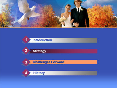 Marriage Ceremony PowerPoint Template, Slide 3, 00246, Holiday/Special Occasion — PoweredTemplate.com