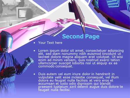 Free Virtual Reality PowerPoint Template Slide 2