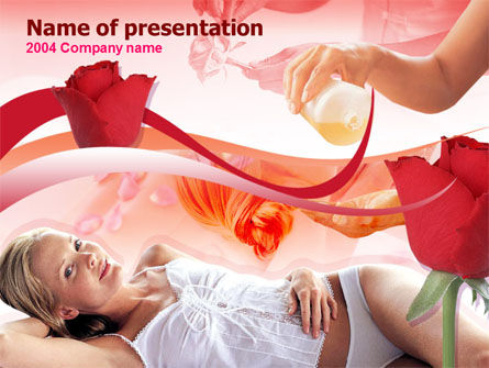 Health and Recreation: Body Care PowerPoint Template #00251