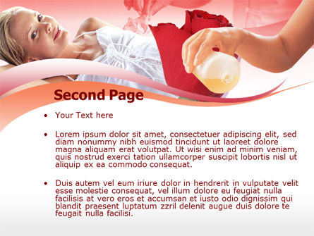 Body Care PowerPoint Template, Slide 2, 00251, Health and Recreation — PoweredTemplate.com