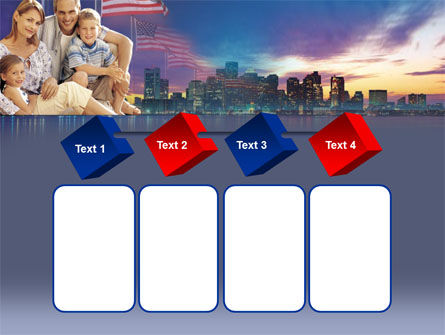 American Family PowerPoint Template Slide 18