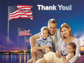 American Family PowerPoint Template#20